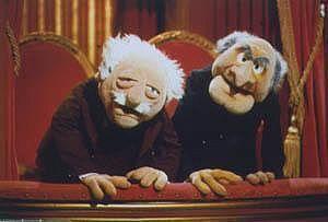 Muppet hecklers, Statler and Waldorf