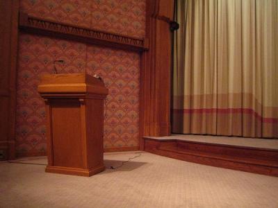 podium   enhance old presentation techniques